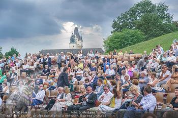 Festspiel Premiere - Grafenegg - Fr 14.08.2020 - Publikum unmittelbar vor Beginn und kurz vor Abbruch wegen Schle127