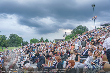 Festspiel Premiere - Grafenegg - Fr 14.08.2020 - Publikum unmittelbar vor Beginn und kurz vor Abbruch wegen Schle131