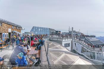 200 Jahre Erstbesteigung - Zugspitze - Do 27.08.2020 - Menschenmassen und Massenandrang auf der Zugspitze, Restaurant8