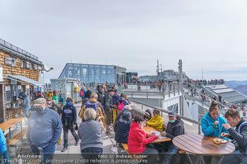 200 Jahre Erstbesteigung - Zugspitze - Do 27.08.2020 - Menschenmassen und Massenandrang auf der Zugspitze, Restaurant9