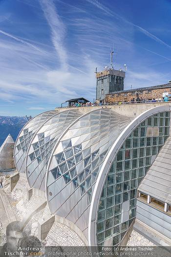 200 Jahre Erstbesteigung - Zugspitze - Do 27.08.2020 - Menschenmassen und Massenandrang auf der Zugspitze, Restaurant24