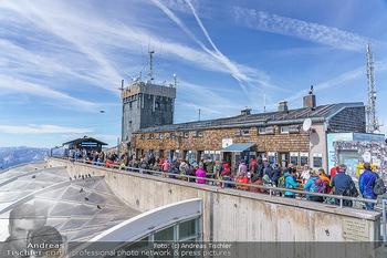 200 Jahre Erstbesteigung - Zugspitze - Do 27.08.2020 - Menschenmassen und Massenandrang auf der Zugspitze, Restaurant25