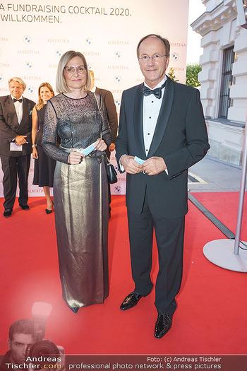 Fundraising Dinner - Albertina, Wien - Do 03.09.2020 - Ingrid KIEFER, Ernst MINAR17