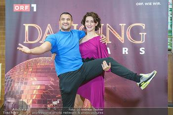 Dancing Stars Pressetermin - Funkhaus Wien - Mo 07.09.2020 - Alexandra SCHERIAU, Marcos NADER1