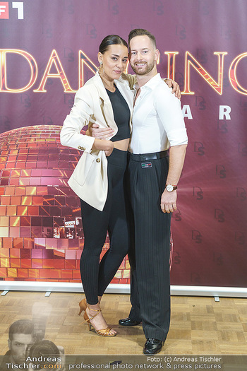 Dancing Stars Pressetermin - Funkhaus Wien - Mo 07.09.2020 - Edita MALOVCIC, Florian VANA2