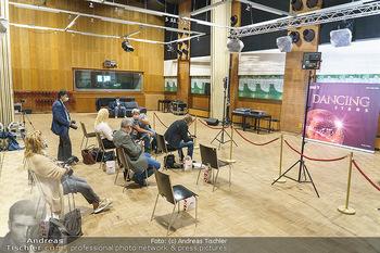Dancing Stars Pressetermin - Funkhaus Wien - Mo 07.09.2020 - Sicherheitsabstand für Pressevertreter und Fotografen wegen Cor13