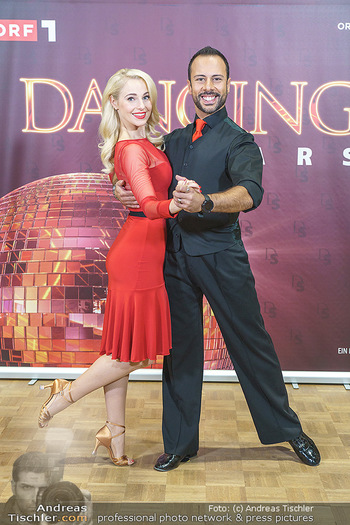 Dancing Stars Pressetermin - Funkhaus Wien - Mo 07.09.2020 - Silvia SCHNEIDER, Danilo CAMPISI21