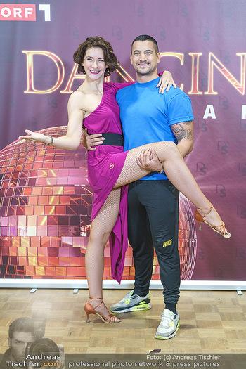 Dancing Stars Pressetermin - Funkhaus Wien - Mo 07.09.2020 - Alexandra SCHERIAU, Marcos NADER31