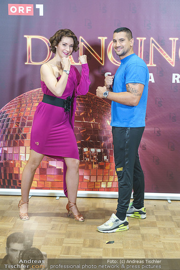 Dancing Stars Pressetermin - Funkhaus Wien - Mo 07.09.2020 - Alexandra SCHERIAU, Marcos NADER32