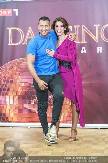 Dancing Stars Pressetermin - Funkhaus Wien - Mo 07.09.2020 - Alexandra SCHERIAU, Marcos NADER33