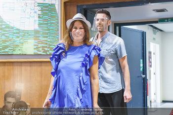 Dancing Stars Pressetermin - Funkhaus Wien - Mo 07.09.2020 - Natalia USHAKOVA mit MNS Corona Schutzmaske gegen Coronavirus35