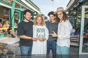 Kochbuchpräsentation - Neni´s am Naschmarkt - Mi 16.09.2020 - Brüder Nuriel, Nadin und Eleior MOLCHO mit Mutter Haya MOLCHO1