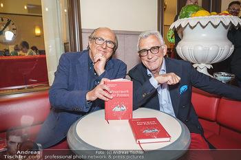 Buchpräsentation Marecek & Horowitz - Cafe Museum, Wien - Mi 16.09.2020 - Michael HOROWITZ, Heinz MARECEK1