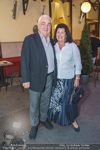 Buchpräsentation Marecek & Horowitz - Cafe Museum, Wien - Mi 16.09.2020 - Walter und Charlotte ROTHENSTEINER13