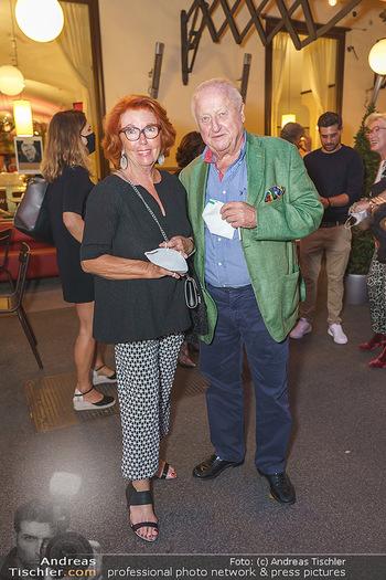 Buchpräsentation Marecek & Horowitz - Cafe Museum, Wien - Mi 16.09.2020 - Inge und Rudolf Purzel KLINGOHR14