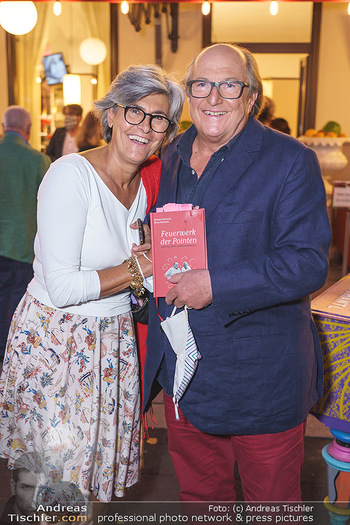 Buchpräsentation Marecek & Horowitz - Cafe Museum, Wien - Mi 16.09.2020 - Michael HOROWITZ mit Ehefrau Angelika16