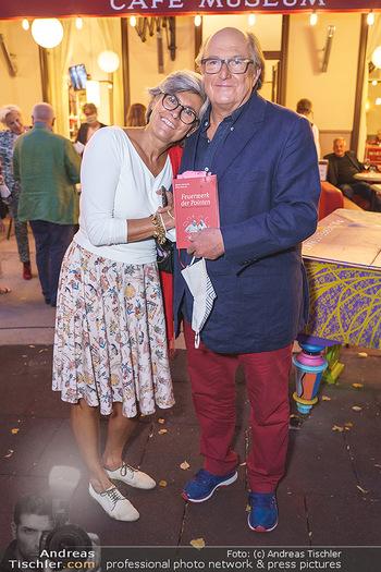 Buchpräsentation Marecek & Horowitz - Cafe Museum, Wien - Mi 16.09.2020 - Michael HOROWITZ mit Ehefrau Angelika17