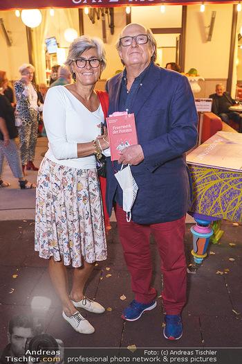 Buchpräsentation Marecek & Horowitz - Cafe Museum, Wien - Mi 16.09.2020 - Michael HOROWITZ mit Ehefrau Angelika18