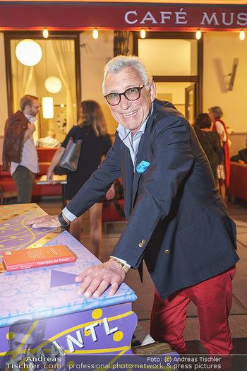 Buchpräsentation Marecek & Horowitz - Cafe Museum, Wien - Mi 16.09.2020 - Heinz MARECEK19