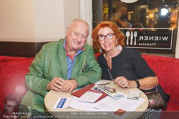 Buchpräsentation Marecek & Horowitz - Cafe Museum, Wien - Mi 16.09.2020 - Inge und Rudolf Purzel KLINGOHR24