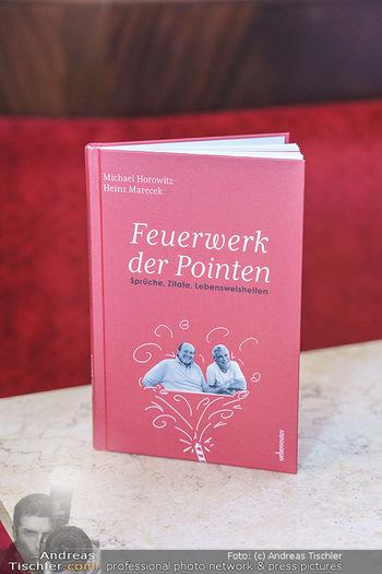 Buchpräsentation Marecek & Horowitz - Cafe Museum, Wien - Mi 16.09.2020 - Das Buch Feuerwerk der Pointen25