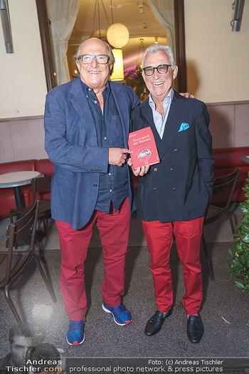 Buchpräsentation Marecek & Horowitz - Cafe Museum, Wien - Mi 16.09.2020 - Michael HOROWITZ, Heinz MARECEK27