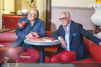 Buchpräsentation Marecek & Horowitz - Cafe Museum, Wien - Mi 16.09.2020 - Michael HOROWITZ, Heinz MARECEK34