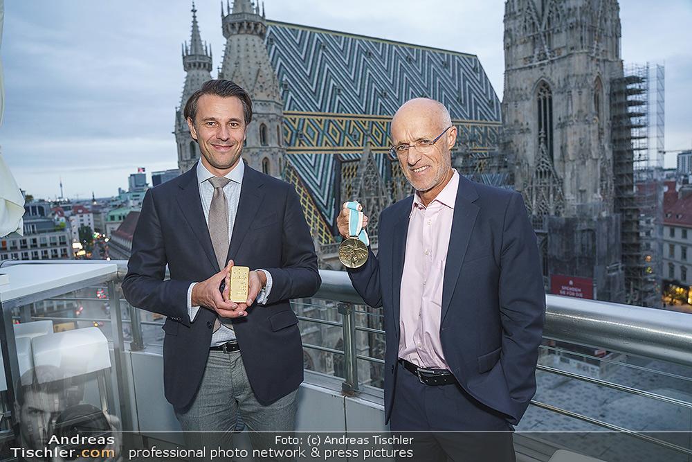 Philoro Golden Winner Dinner - 2020-09-17 - Do&Co Wintergarten