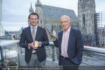 Philoro Golden Winner Dinner - Do&Co Wintergarten - Do 17.09.2020 - Rudolf BRENNER, Anton Toni INNAUER2