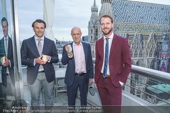 Philoro Golden Winner Dinner - Do&Co Wintergarten - Do 17.09.2020 - Rudolf und Christian BRENNER, Anton Toni INNAUER3