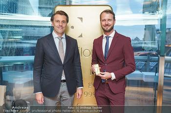 Philoro Golden Winner Dinner - Do&Co Wintergarten - Do 17.09.2020 - Brüder Rudolf und Christian BRENNER (Bruder)9