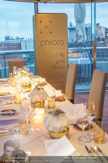 Philoro Golden Winner Dinner - Do&Co Wintergarten - Do 17.09.2020 - 14