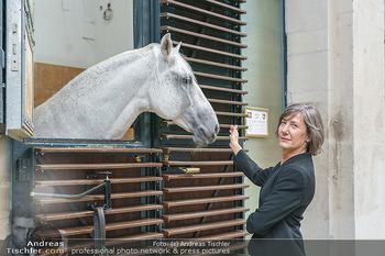 Austrian World Summit 2020 - Stallburg und Hofreitschule - Do 17.09.2020 - Birgit HEBEIN mit Lipizzaner Pferd23