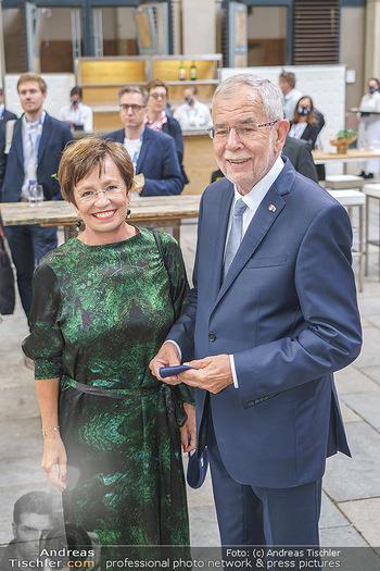 Austrian World Summit 2020 - Stallburg und Hofreitschule - Do 17.09.2020 - Alexander VAN DER BELLEN, Doris SCHMIDAUER37