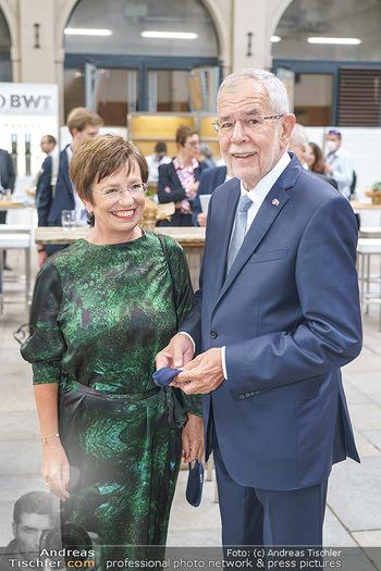 Austrian World Summit 2020 - Stallburg und Hofreitschule - Do 17.09.2020 - Alexander VAN DER BELLEN, Doris SCHMIDAUER38