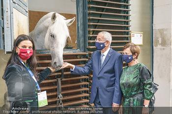 Austrian World Summit 2020 - Stallburg und Hofreitschule - Do 17.09.2020 - Sonja KLIMA, Doris SCHMIDAUER, Alexander VAN DER BELLEN mit Lipi70