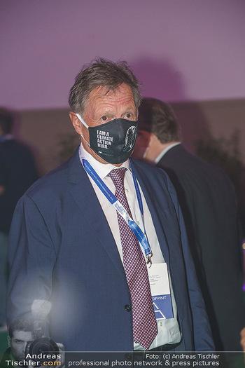 Austrian World Summit 2020 - Stallburg und Hofreitschule - Do 17.09.2020 - Franz KLAMMER mit Corona Schutzmaske79