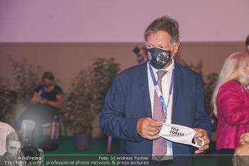 Austrian World Summit 2020 - Stallburg und Hofreitschule - Do 17.09.2020 - Franz KLAMMER mit Corona Schutzmaske80
