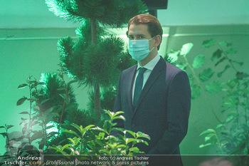 Austrian World Summit 2020 - Stallburg und Hofreitschule - Do 17.09.2020 - Sebastian KURZ mit Corona Schutzmaske MNS Maske111
