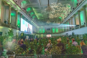 Austrian World Summit 2020 - Stallburg und Hofreitschule - Do 17.09.2020 - viele Büsche im Festsaal154