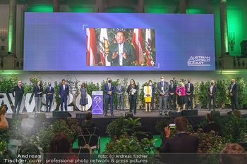 Austrian World Summit 2020 - Stallburg und Hofreitschule - Do 17.09.2020 - Gruppenfoto Bühne157