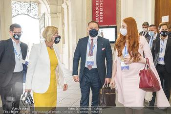 Austrian World Summit 2020 - Stallburg und Hofreitschule - Do 17.09.2020 - Klemens und Barbara HALLMANN (MEIER), Johanna MIKL-LEITNER170