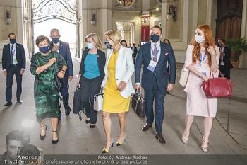 Austrian World Summit 2020 - Stallburg und Hofreitschule - Do 17.09.2020 - Klemens und Barbara HALLMANN, Johanna MIKL-LEITNER, D SCHMIDAUER176