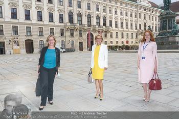 Austrian World Summit 2020 - Stallburg und Hofreitschule - Do 17.09.2020 - Barbara HALLMANN (MEIER), Johanna MIKL-LEITNER, Leonore GEWESSLE185