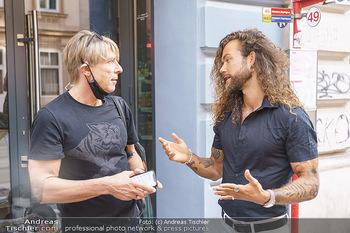 Fototermin Hank Ge - Oie Poke, Wien - Di 22.09.2020 - Hank GE, Dominic HEINZL5