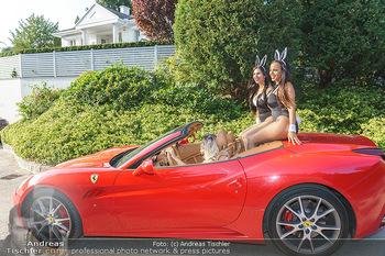 Lugner Reunion Feier - Lugner Privatvilla - Di 22.09.2020 - Tierchen Nina Bambi BRUCKNER und Bahati Colibri Venus fahren mit31