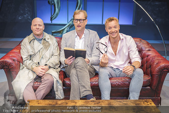 Bühnenfotos Das Abschiedsdinner - Stadttheater Berndorf - Fr 25.09.2020 - Gerhard KASAL, Christoph VON FRIEDL, Alexander JAGSCH4