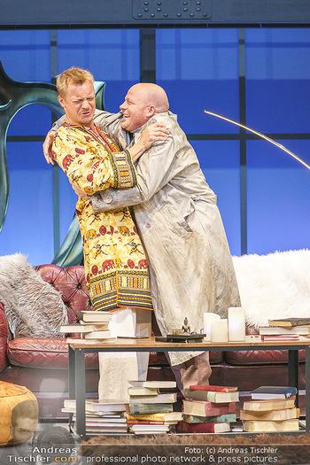 Bühnenfotos Das Abschiedsdinner - Stadttheater Berndorf - Fr 25.09.2020 - Christoph VON FRIEDL, Gerhard KASAL33