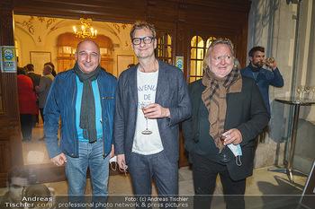 Premiere ´Das Abschiedsdinner´ - Stadttheater Berndorf - Do 01.10.2020 - Christoph FÄLBL, Gregor SEBERG, Alexander JAGSCH24