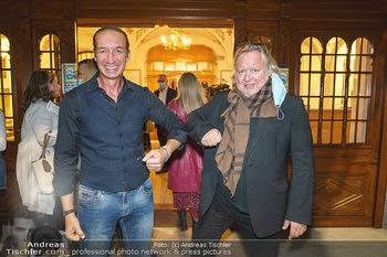 Premiere ´Das Abschiedsdinner´ - Stadttheater Berndorf - Do 01.10.2020 - Michael SEIDA, Gregor SEBERG26